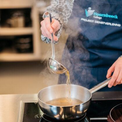 Student kookt