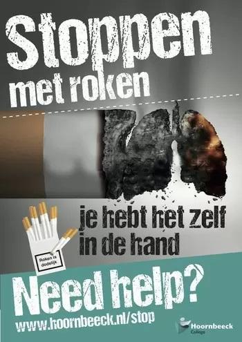 beeld stoppen met roken