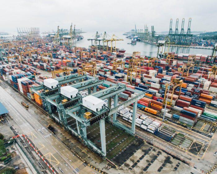 Foto van een haven