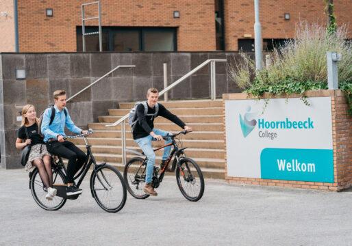 Beeld studenten Hoornbeeck