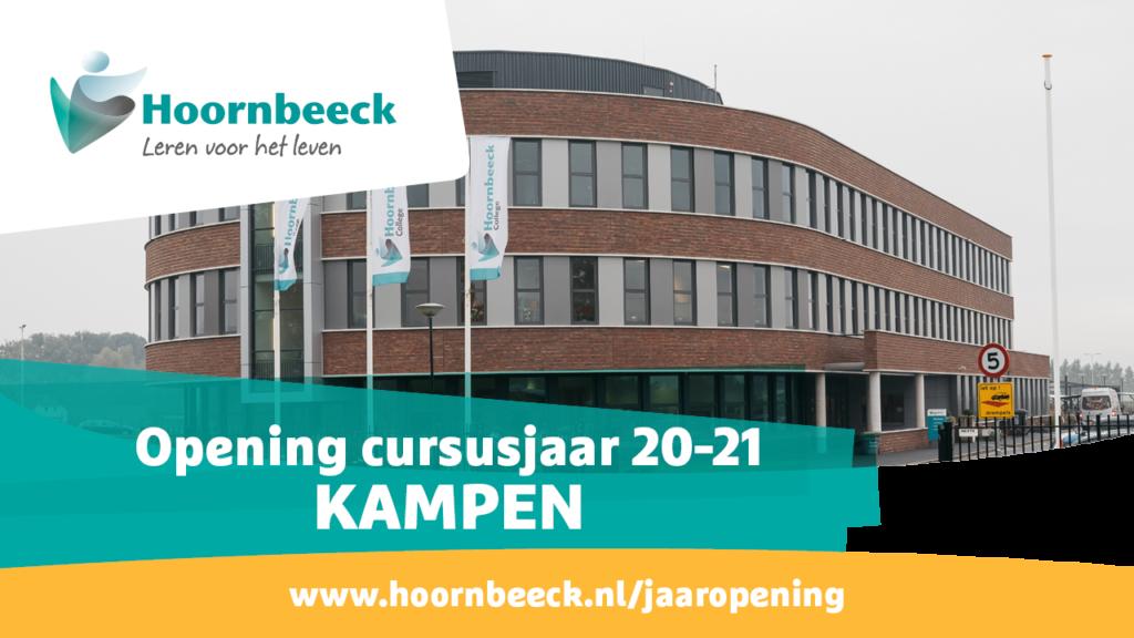 Beeld jaaropening Kampen