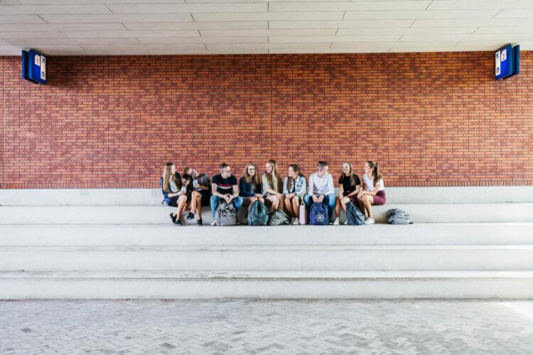 beeld studenten
